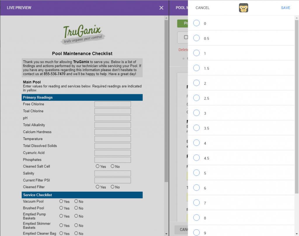 Pool Service Checklist | GorillaDesk