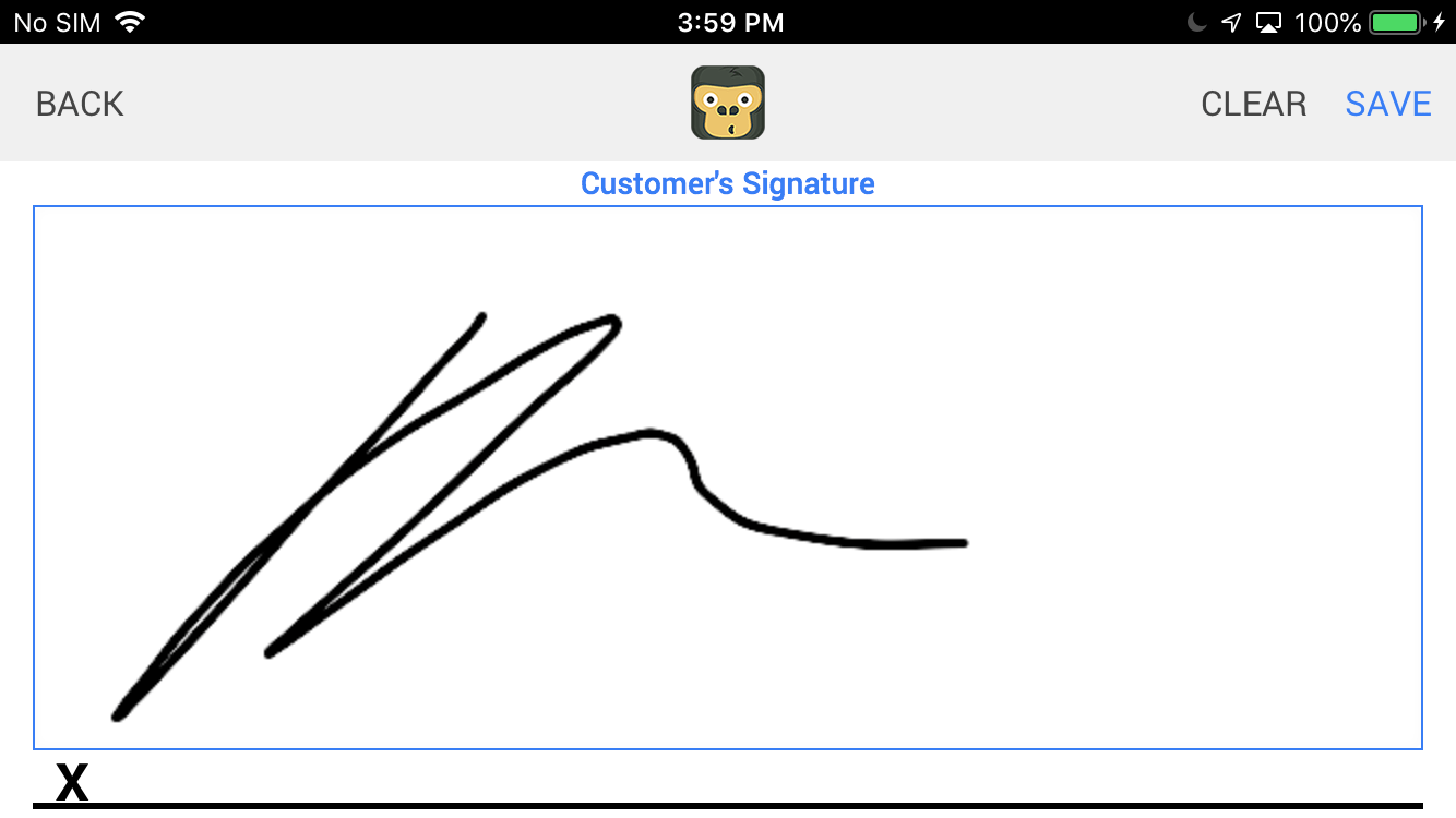 Add Signature to Estimate and Invoices - GorillaDesk Esti mate Software