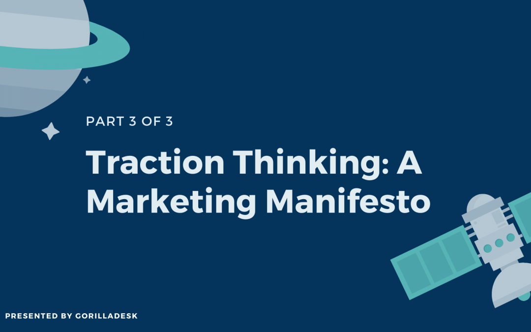 Traction Thinking: Lesson 3
