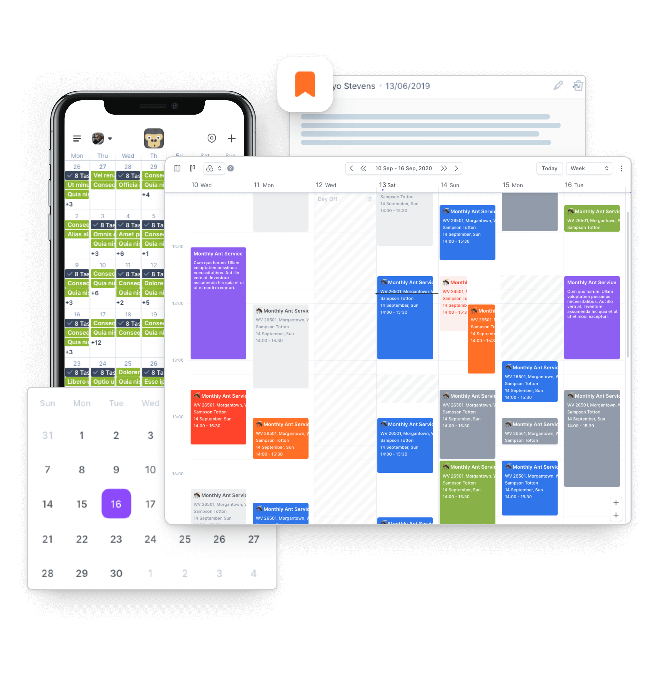 Job Scheduling Software by GorillaDesk