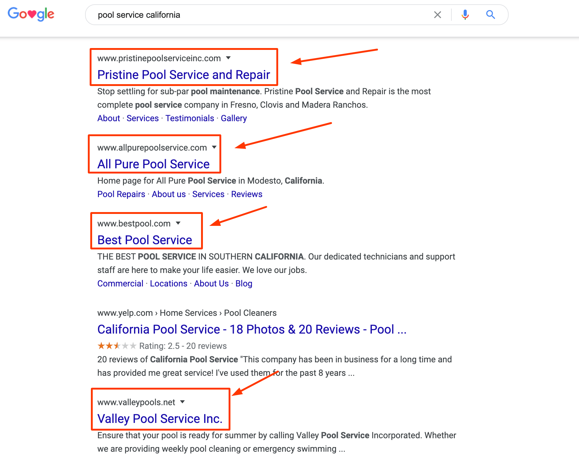 How to Name a pool service business