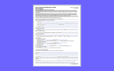 HUD NPMA-99B Document